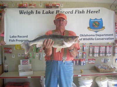 Fish oklahoma for Lake hefner fishing report
