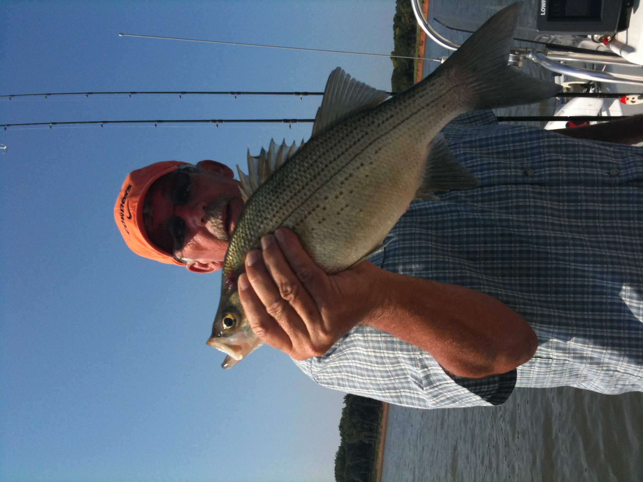 Fish oklahoma for Kaw lake fishing report